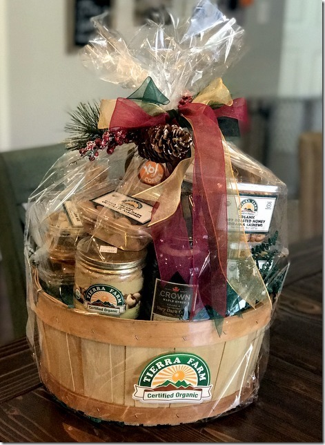 Fun facts friday 1110 sweet tooth sweet life the kind people from tierra farms sent us this beautiful basket filled with some of their incredible 100 certified organic certified gluten free negle Choice Image