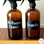 DIY All-Purpose Cleaner & Granite Cleaner {Using Essential Oils}