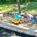 {DIY Project} A New Sandbox for the Boys!
