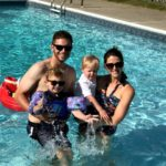 Father's Day + First Pool Day of the Season!