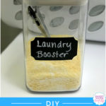{DIY} Homemade Laundry Booster (SUPER Easy and Cheap!!)