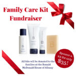 Giving Back to the Families {Family Care Kit Fundraiser!}