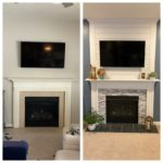 Our Fireplace Makeover – Before & After!